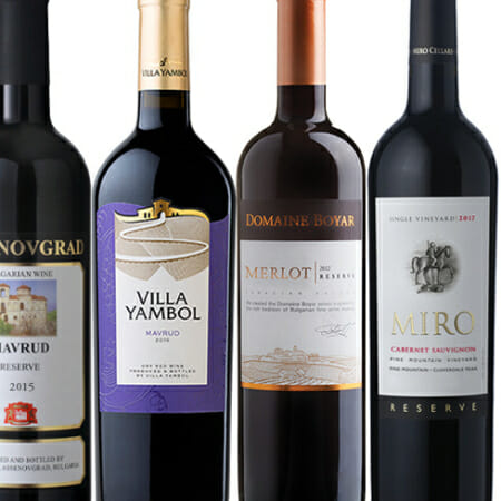 Mixed Case of Bulgarian Red Wines